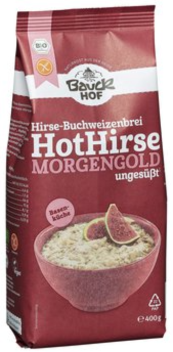 Hot millet Morgengold by Bauckhof