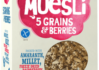 Amazing Gluten Free Museli 5 grains by Hubbards Foods