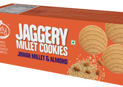 Millet Cookies Jowar Almond by Early Foods
