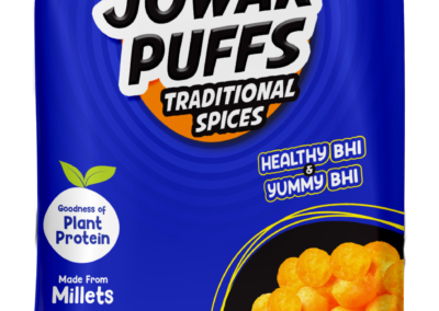 Jowar Puffs by InnerBeing