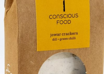 Jowar Crackers by Conscious Foods