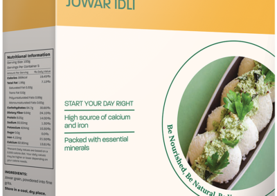Jowar Idli Mix by InnerBeing