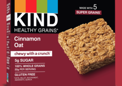 Healthy Grains Cinnamon Oat Bar by KIND