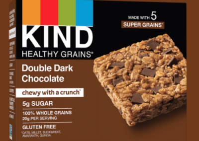 Healthy Grains Double Dark Chocolate Bars by KIND