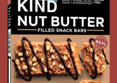 Honey Almond Butter Bars by KIND
