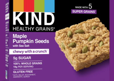 Healthy Grains Maple Pumpkin Seeds Bars by KIND