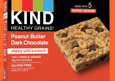 Healthy Grains Peanut Butter Dark Chocolate Bar by KIND