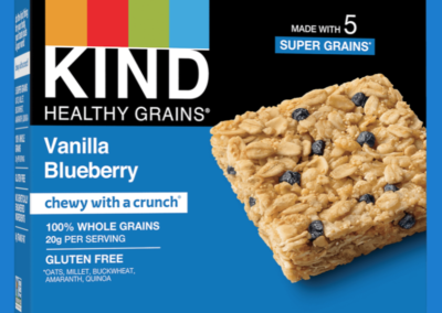 Healthy Grains Vanilla Blueberry Bar by KIND