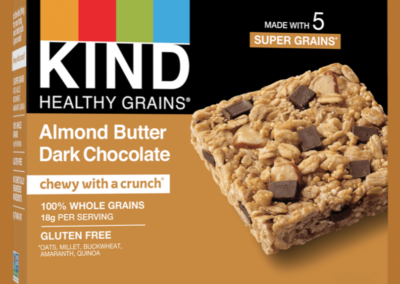 Healthy Grains Almond Butter & Dark Chocolate Bar by KIND