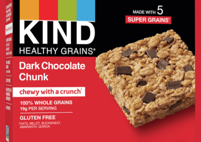 Healthy Grains Dark Chocolate Chunk Bars by KIND