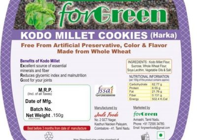 Kodo Millet Cookies by Joule Foods