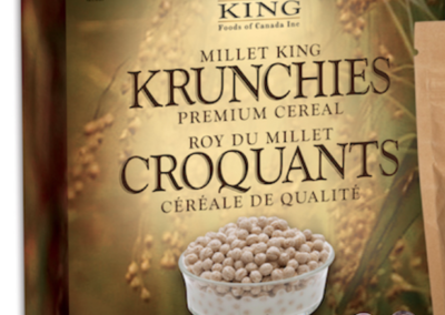 Krunchies Premium Cereal by Millet King