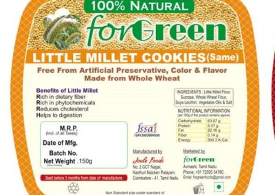 Little Millet Cookies by Joule Foods