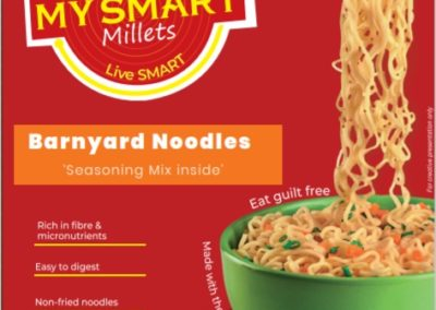 Barnyard Millet noodles by My Smart Millets