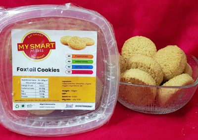 Foxtail Millet Cookies by My Smart Millets