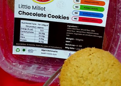 Little Millet Cookies by My Smart Millets
