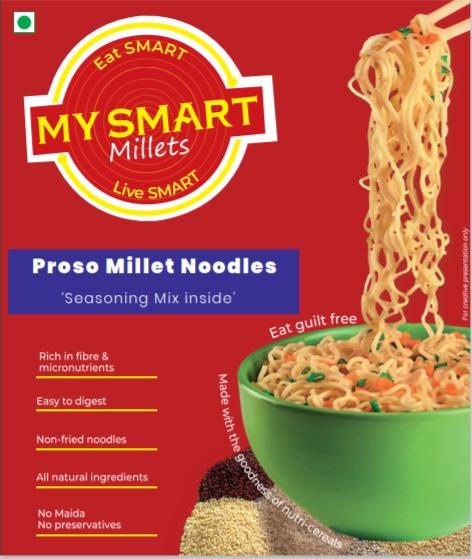 Proso Millet Noodles by My Smart Millets