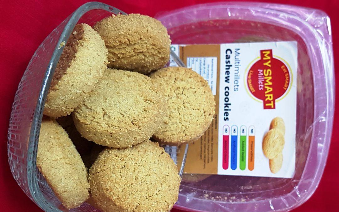 Multi Millet Cashew Cookies by My Smart Millets