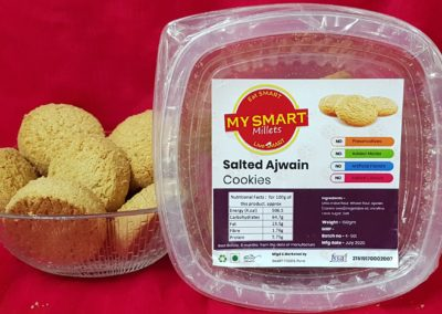 Salted Ajwan Cookies by My Smart Millets