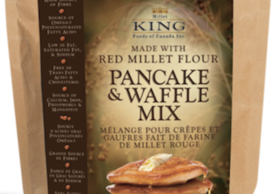 Pancake and Waffle Mix by Millet King