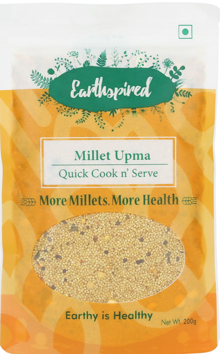 Millet Upma by EarthSpired, Mrida Group