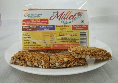 Foxtail Millet Chikki by Moon Foods