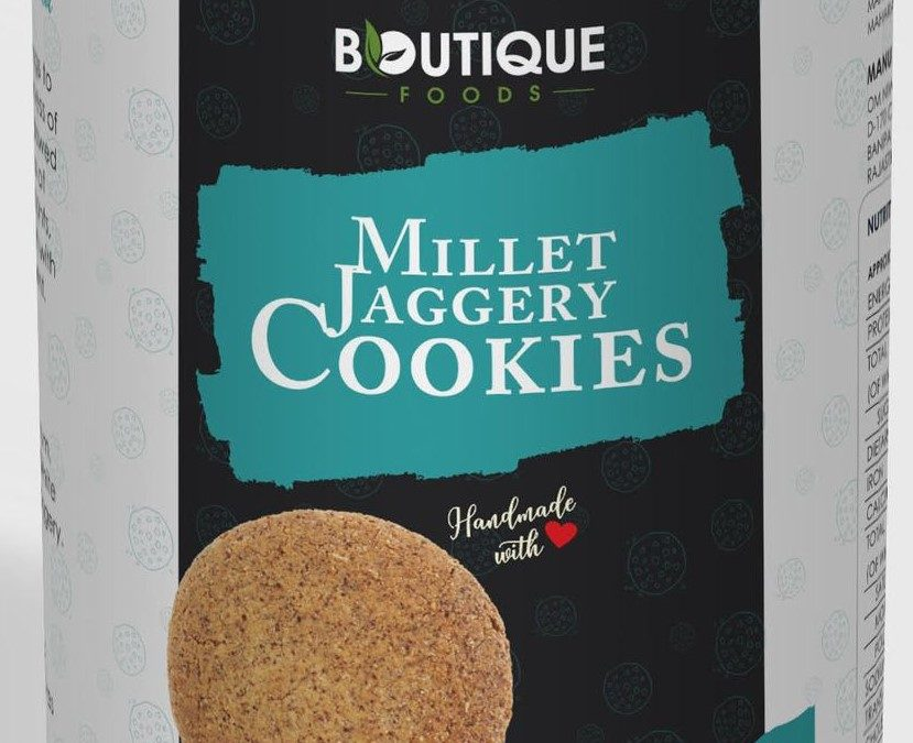 Millet Cookies Jaggery by Boutique Foods
