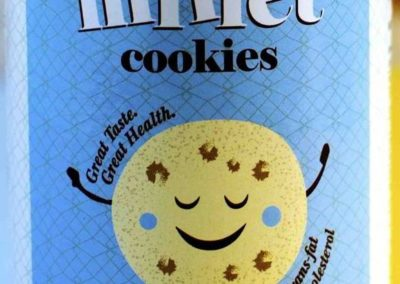 Millet Cookies Plain by Boutique Foods