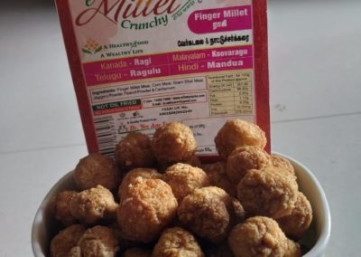 Millet Peanut Balls by Moon Foods