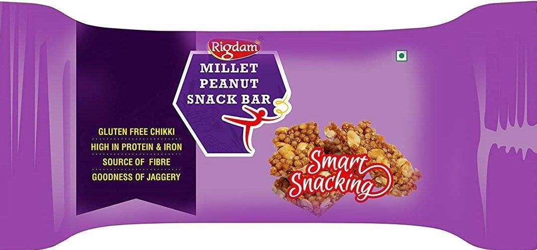 Millet Peanut Snack Bar by Rigdam
