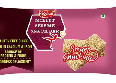 Millet Sesame Snack Bar by Rigdam