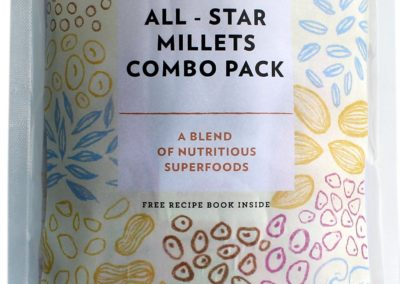 All Star Millet Combo Pack by Hapup, Sattva Life Foods