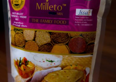 Multi Millet Chapati Mix by Milleto, Adhisurya Foods