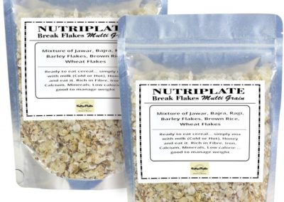 Multigrain Flakes by Nutriplate