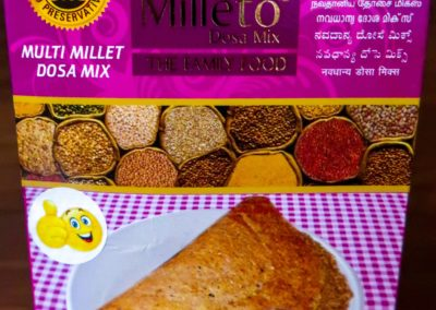 Multi Millet Dosa Mix by Milleto, Adhisurya Foods