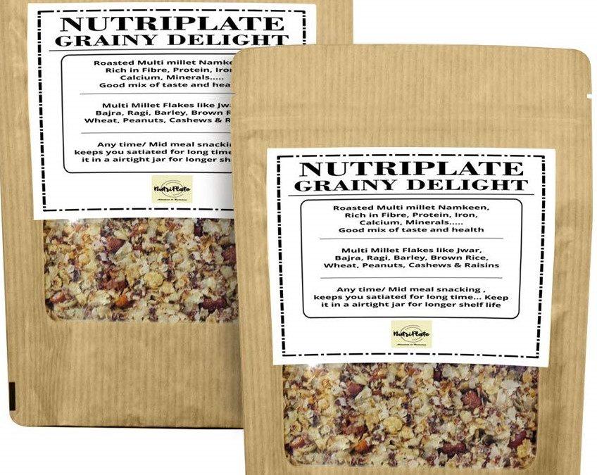 Namkeen Millets by Nutriplate