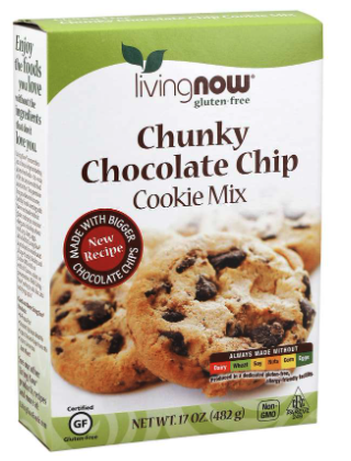 Chunky Chocochip Cookie Mix by Now Foods