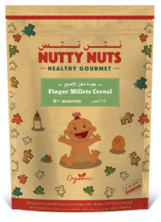 Organic Finger Millet Cereal by Nutty Nuts