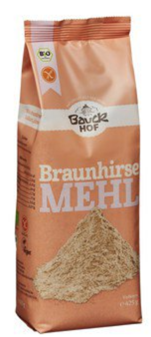 Brown Millet Flour by Bauckhof