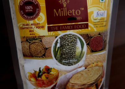 Pearl Millet Chapati Mix by Milleto, Adhisurya Foods