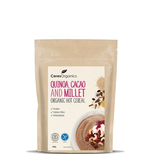 Quinoa Cacao Millet Hot Cereal by Ceres Organics