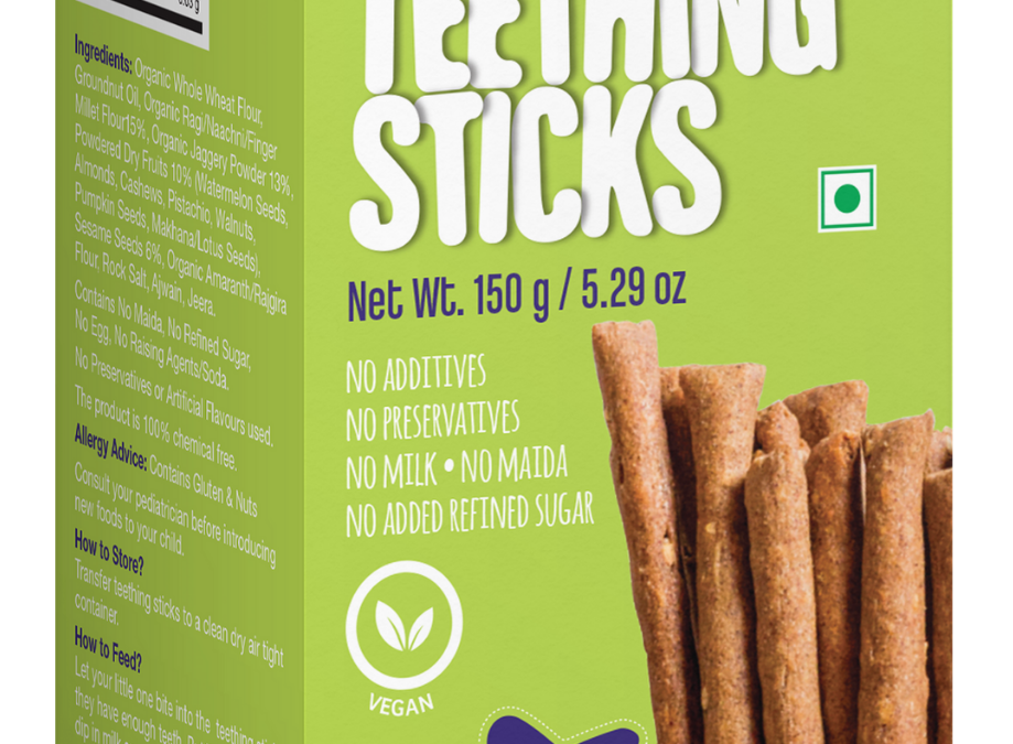 Ragi Sesame Teething Sticks by Early Foods