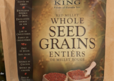 Red Millet Seed Grains