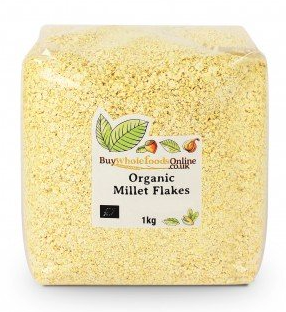 Organic Millet Flakes by buywholefoodsonline.co.uk
