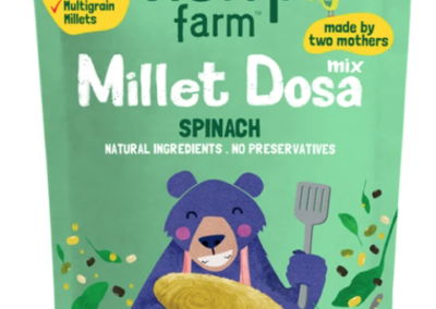 Millet Spinach Dosa by Slurrp Farm