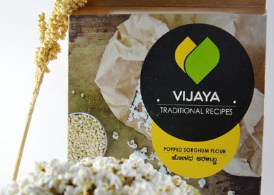 Sorghum Popped Flour by Vijaya Foods