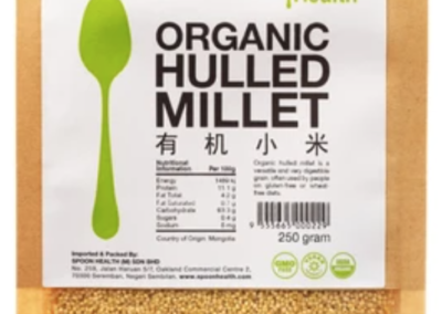 Organic Hulled Millet by Spoon Health