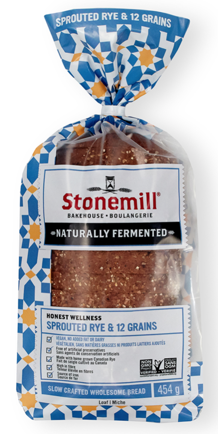 Wholesome Bread Sprouted Rye and Twelve Grain by Stonemill Bake House