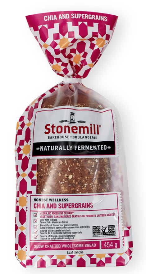 Wholesome Bread Chia and Super Grain by Stonemill Bake House