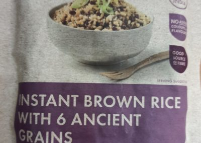 Instant Brown Rice with 6 Ancient Grains by Pams Products Ltd